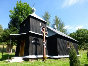 Not THE wooden church in Krajné Čierno, but still notable.